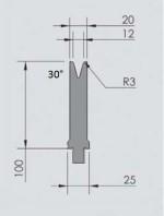 Abkantwerkzeug Typ Wila OZU-352