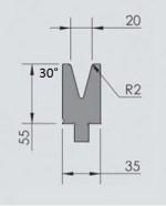 Abkantwerkzeug Typ Wila OZU-063