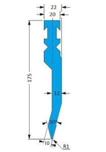 Abkantwerkzeug Typ Bystronic P5 RF-A H175