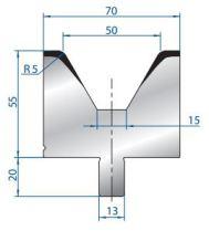 Abkantwerkzeug Typ Bystronic V50 60°
