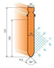 Abkantwerkzeug Typ Trumpf GWP-T203