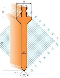 Abkantwerkzeug Typ Trumpf GWP-T203/S