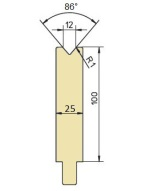 Abkantwerkzeug Typ Trumpf GWD-T012S/86°/R1
