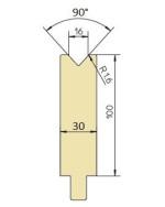 Abkantwerkzeug Typ Trumpf GWD-T016/90°/1,6