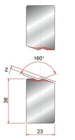 Z-einsatz GWZ-160°-Z1-Z1,5