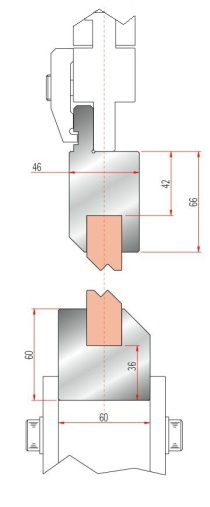 Zudrückstempel Amada GWP-1195