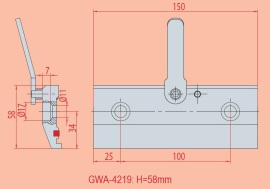 Spannvorrichtung GWA 4219