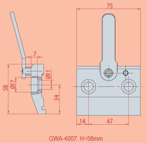 Spannvorrichtung GWA 4007