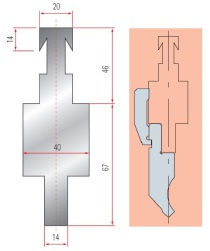 Adapter GWA 4192/ Beyeler-R