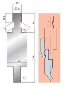 Adapter GWA 4273/ Colgar