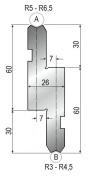 Radienhalter GWR-1155