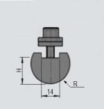 Radieneinsatz R12,5-R50