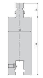 Oberwerkzeugverlängerung GWA-MD-H150