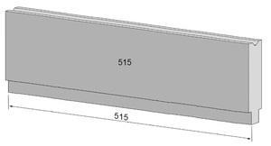 515mm Unterwerkzeug Typ Wila