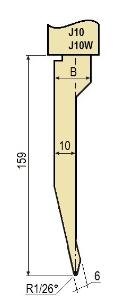 Stempel GWP-LJ10-26°/R1/H159