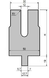 Zudrückmatrize GWD-L0012/Z-R1