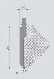Abkantwerkzeug Typ Wila BIU-032