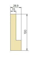Zudrück-Oberwerkzeug Typ Trumpf GWP-1249/28°/R0,6-S8