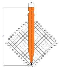 Abkantwerkzeug Typ Trumpf GWP-T1238
