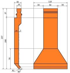 Spezialwerkzeug Typ Trumpf SP004