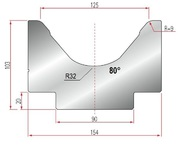 Amada Matrize V125-80°-R9