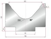 Amada Matrize V160-80°-R11