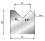 Amada Matrize V40-85°-R4