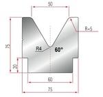 Amada Matrize V50-60°-R5