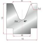 Amada Martize V63-45°-R8